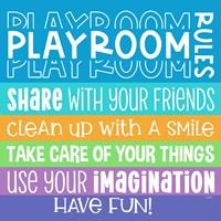 Playroom Rules I Fine-Art Print