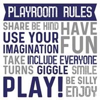 Playroom Rules II Fine-Art Print