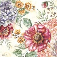 Wildflower Medley Square II Fine-Art Print