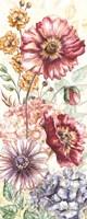 Wildflower Medley Panel Cream I Fine-Art Print