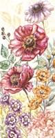 Wildflower Medley Panel Cream II Fine-Art Print