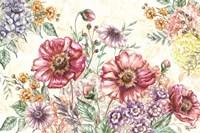 Wildflower Medley Landscape Fine-Art Print