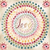 Mosaic Rainbow Round III Fine-Art Print