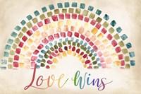 Mosaic Rainbow landscape Fine-Art Print
