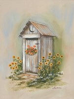 Country Outhouse I Fine-Art Print