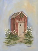 Country Outhouse II Fine-Art Print
