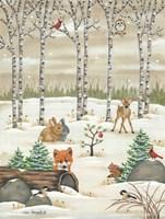 Woodland Critters Fine-Art Print