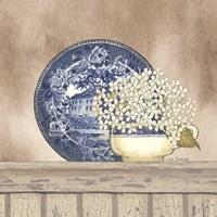Farmhouse Blues I Fine-Art Print