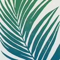 Tropical Treasures III Blue Green Fine-Art Print