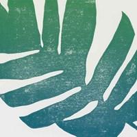 Tropical Treasures II Blue Green Fine-Art Print