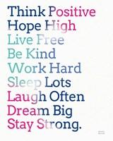 Key to Happiness I Hot Pink Fine-Art Print