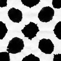 Aquarelle Black and White Square IX Fine-Art Print