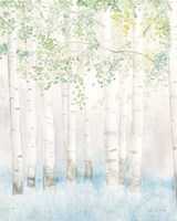 Soft Birches II Fine-Art Print