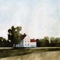 Quiet Farmhouse I Fine-Art Print