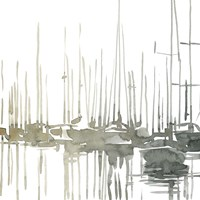 Early Morning Wharf I Fine-Art Print