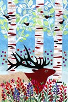 Forest Creatures I Fine-Art Print