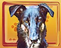 Pop Dog I Fine-Art Print