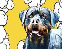 Pop Dog III Fine-Art Print