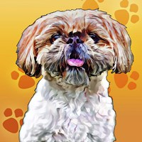 Pop Dog VIII Fine-Art Print