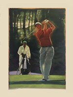 The Golfer Fine-Art Print