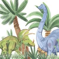 Dino Buddies II Fine-Art Print