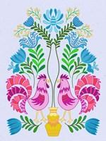 Folk Bird II Fine-Art Print