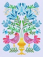 Folk Bird IV Fine-Art Print