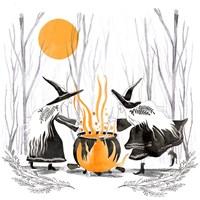 Witchy Mischief I Fine-Art Print