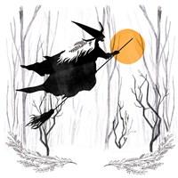 Witchy Mischief II Fine-Art Print