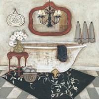 Casual Bath I Fine-Art Print