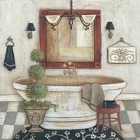 Casual Bath II Fine-Art Print