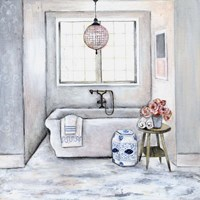 Neutral Bath II Fine-Art Print