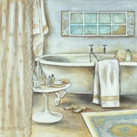 Soft Bath I Fine-Art Print