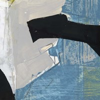 Blue & Black I Fine-Art Print