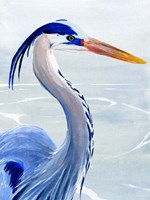 Great Blue II Fine-Art Print