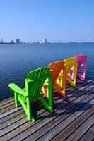 Adirondack Chairs, Orange Beach, Alabama Fine-Art Print
