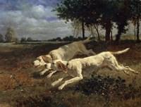Running Dogs, 1853 Fine-Art Print