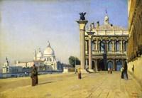 Morning in Venice, 1834 Fine-Art Print