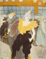 La Clownesse in the Moulin Rouge, 1897 Fine-Art Print