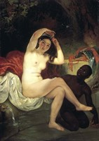 Bathing Bathsheba, 1832 Fine-Art Print