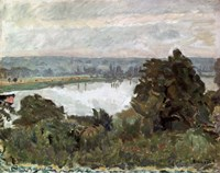 The Seine near Vernon, c1911 Fine-Art Print