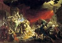 The last Day of Pompeii, 1833 Fine-Art Print