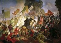 The Siege of Pskov by Stephen Bathory in 1581, 1839-1843 Fine-Art Print