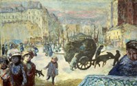 Morning in Paris, 1911 Fine-Art Print