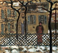 Behind the Fence, 1895 Fine-Art Print