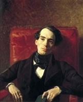 Portrait Alexander Strugovshchikov, 1840 Fine-Art Print