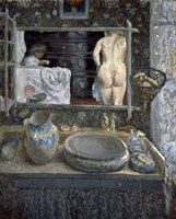Mirror Above a Washstand, 1908 Fine-Art Print