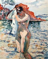 A Bather, 1906 Fine-Art Print