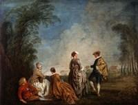 An Embarrassing Proposal, 1715-1716 Fine-Art Print