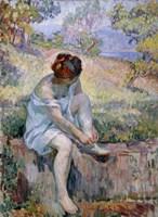 Before Bathing, 1906-1907 Fine-Art Print